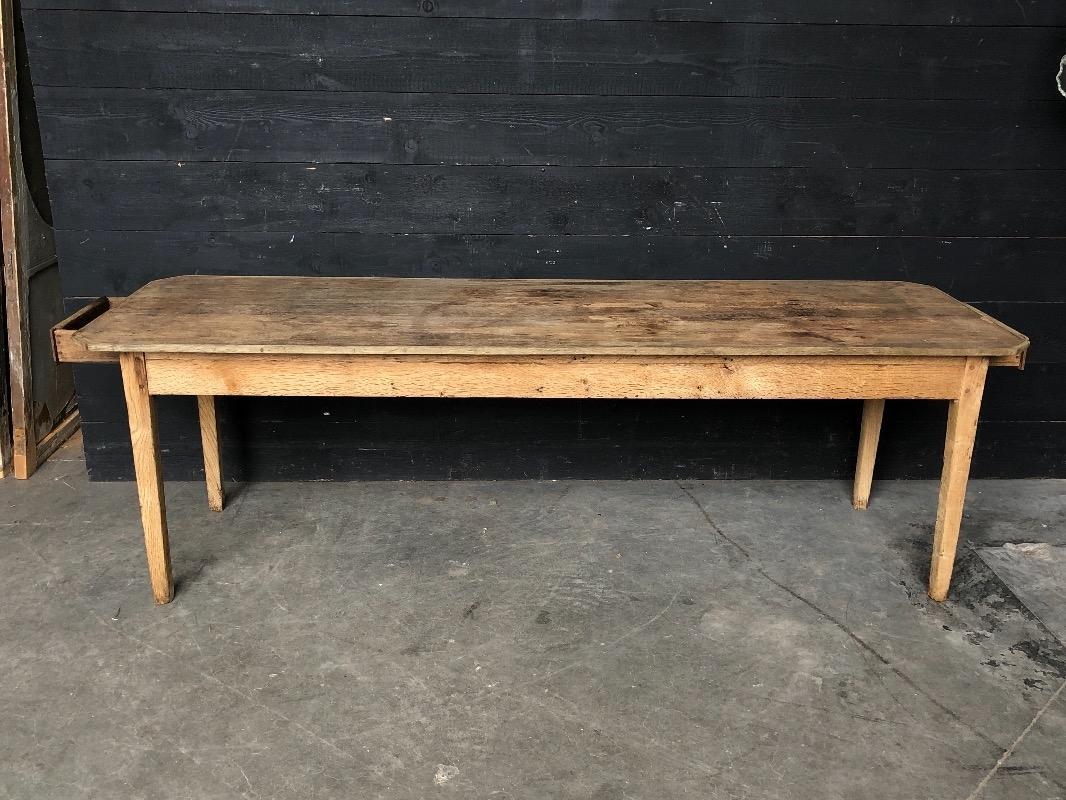 Antique Oak French Farmhouse Dining Table Tables European Antique Warehouse