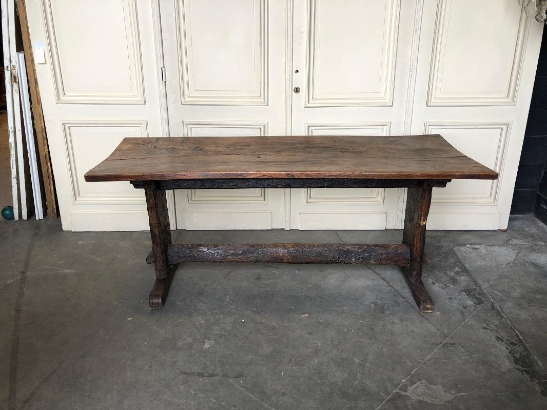 Primitive Farmhouse Or Kitchen Table
