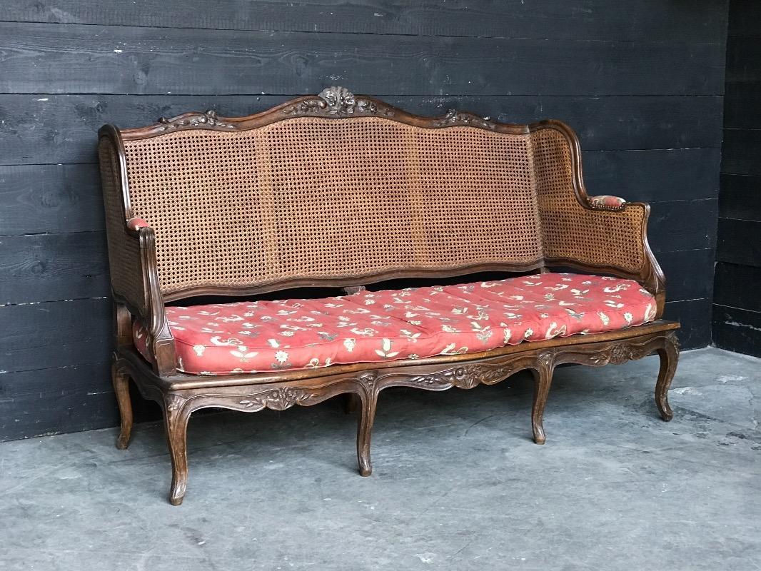 canap regence sofas fauteuils european antique warehouse. Black Bedroom Furniture Sets. Home Design Ideas