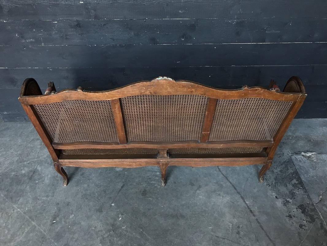 canap regence fauteuils european antique warehouse. Black Bedroom Furniture Sets. Home Design Ideas