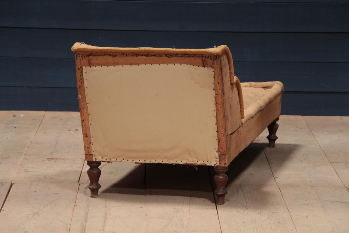 art deco unusual long chair sofas fauteuils european antique warehouse. Black Bedroom Furniture Sets. Home Design Ideas