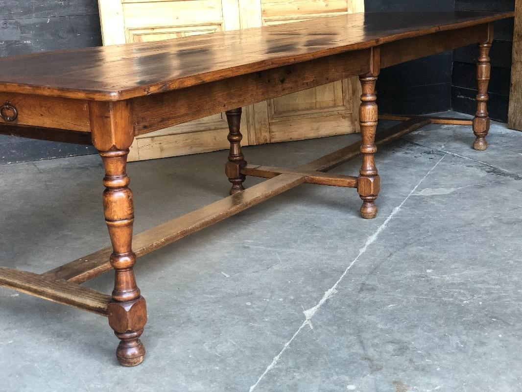 Miraculous Country French Chestnut And Cherry Wood Farmhouse Table Interior Design Ideas Gentotryabchikinfo