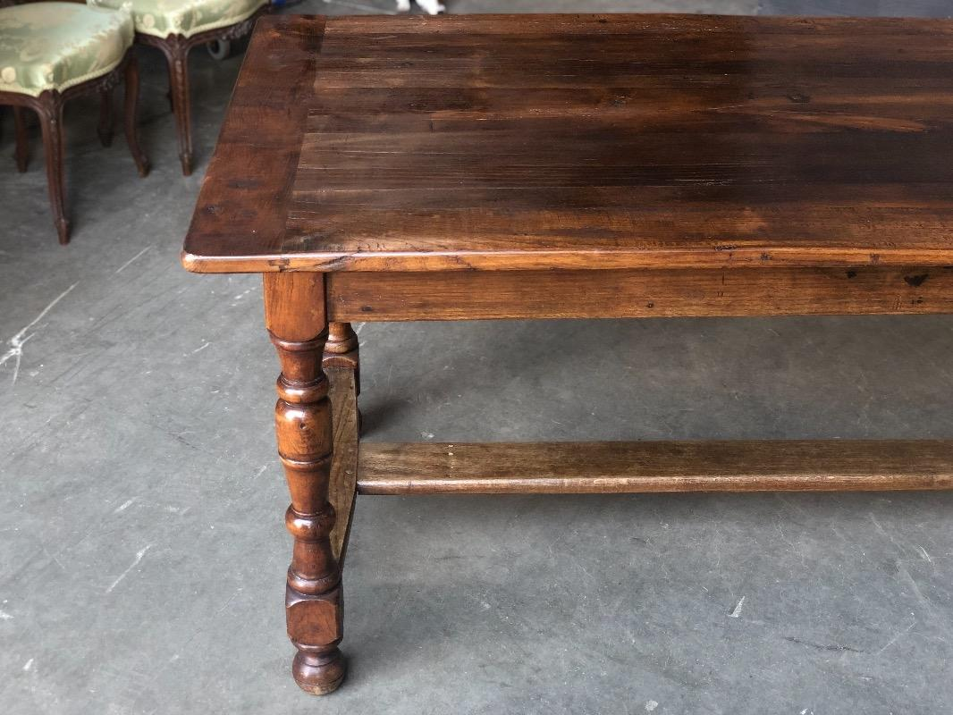 Cool Country French Chestnut And Cherry Wood Farmhouse Table Interior Design Ideas Gentotryabchikinfo