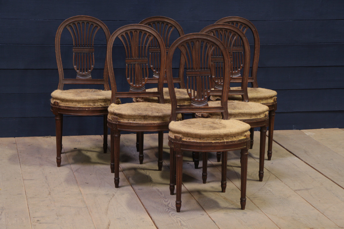 Dining chairs seating european antique warehouse