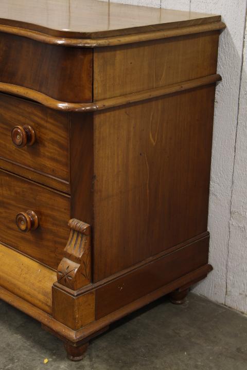 Enflish mahogany 6 drawers cabinet  Mobilier  European Antique Warehouse -> Meubles Anglais Acajou