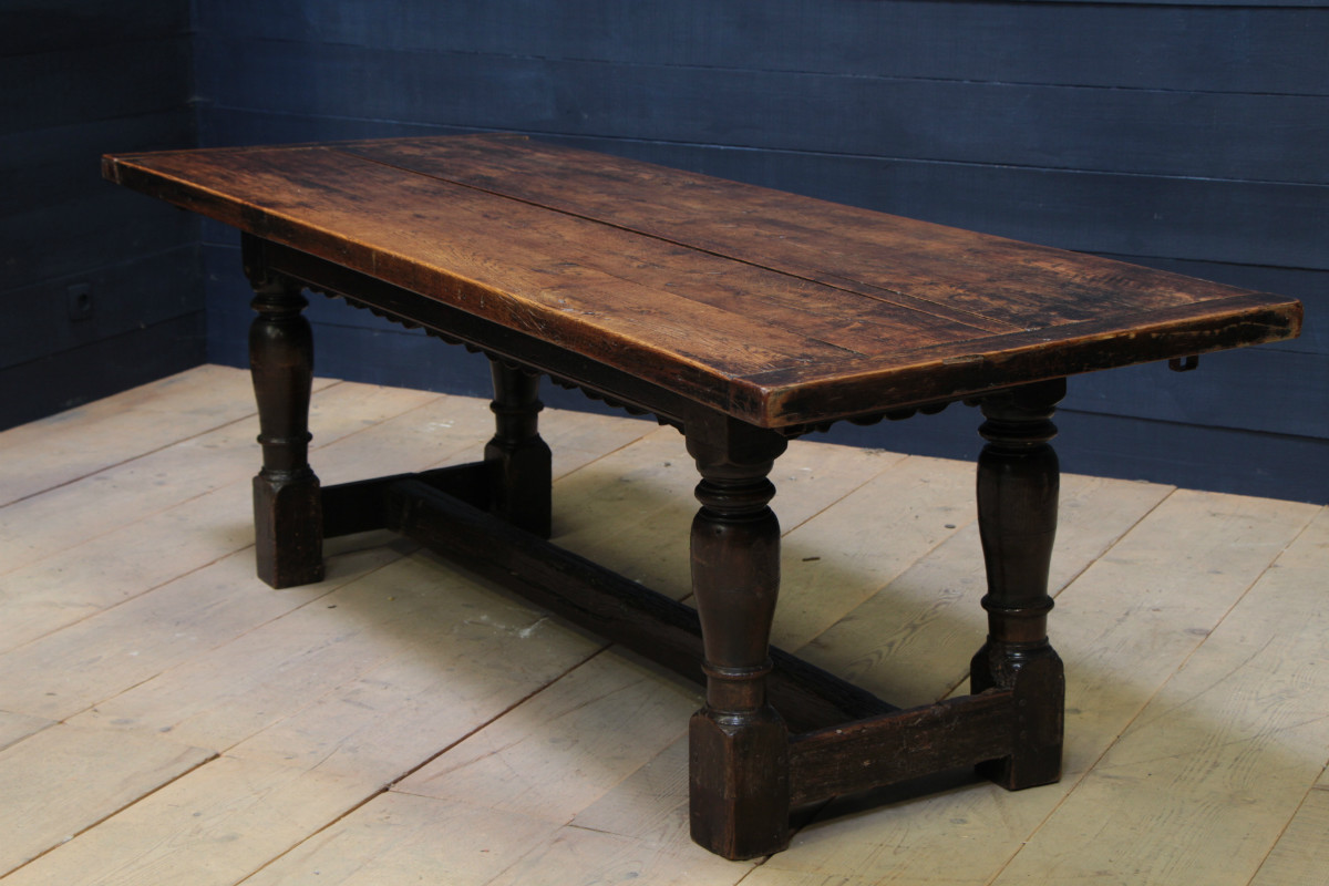 Nice oak english farm table dining tables tables for Table table table
