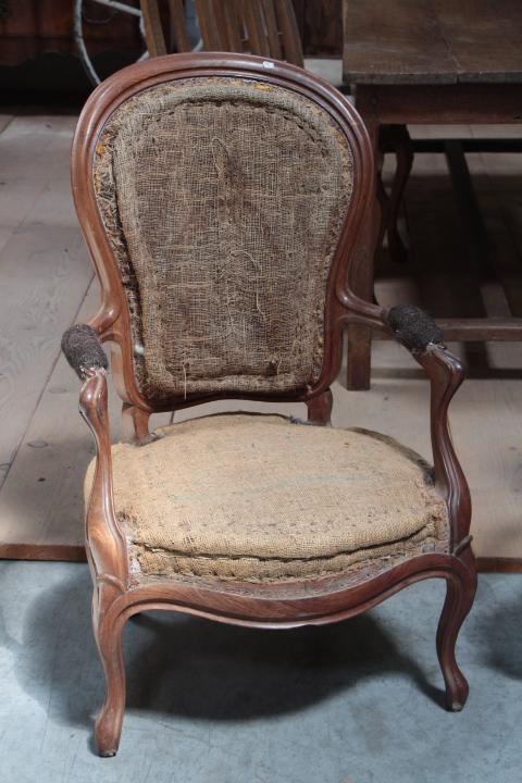 Pair Louis-Philippe Armchairs - FAUTEUILS - European Antique Warehouse